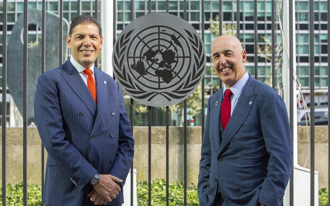 Carlos Hank Gonzalez, Chairman of Grupo Financiero Banorte and Marcos Ramírez Miguel, General Manager of Grupo Financiero Banorte.